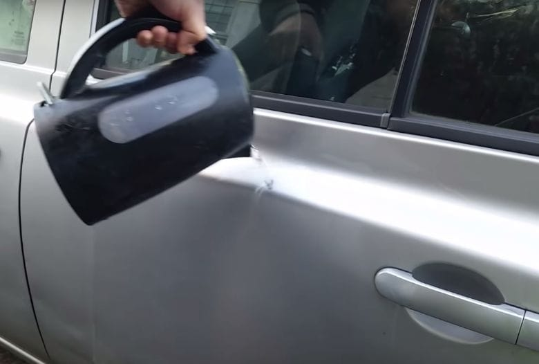 kochendes Wasser auto