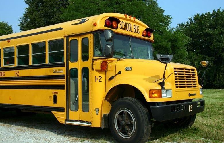 gammal skolbuss school bus